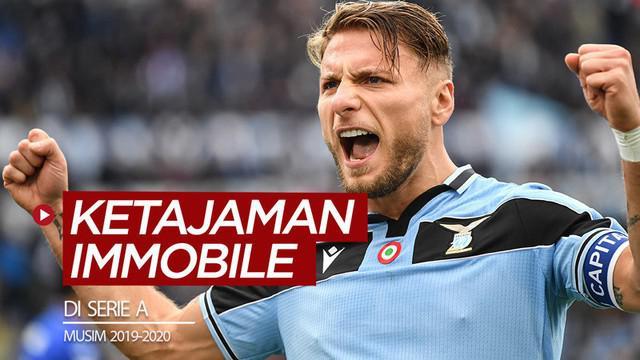 Berita video melihat catatan ketajaman striker Lazio, Ciro Immobile, jelang kembali bergulirnya Serie A musim 2019-2020.