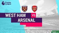 Premier League: West Ham United Vs Arsenal. (Bola.com/Adreanus Titus)