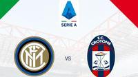 Serie A - Inter Milan Vs Crotone (Bola.com/Adreanus Titus)