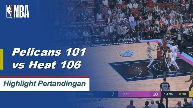 Josh Richardson mencetak 20 poin dan 3 steal menang di kandang atas Pelicans