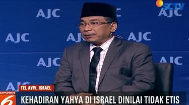 Jokowi menyatakan kehadiran Yahya Staquf sebagai pembicara di Israel adalah urusan pribadi, dan tidak mewakili pemerintah Indonesia