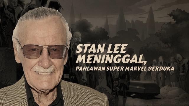 Stan Lee meninggal dunia pada usia 95 tahun.
