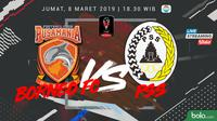 Jadwal Grup D Piala Presiden 2019, Borneo FC vs PSS Sleman. (Bola.com/Dody Iryawan)