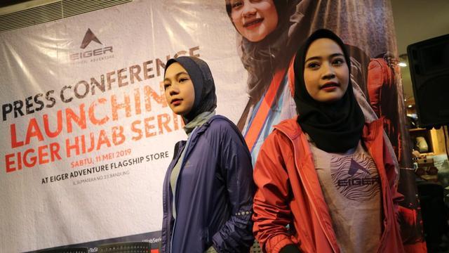 Eiger Luncurkan Koleksi Hijab Berteknologi Anti Bau Dan Cegah Masuk Angin Lifestyle Liputan6 Com