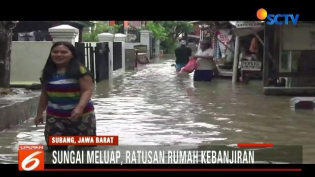 Selain cuaca, kondisi Sungai Cigadung dan Kalensema yang semakin dangkal menjadi pemicu terjadinya banjir yang kerap terjadi.