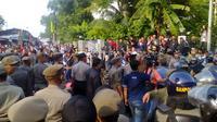 Situasi penggusuran di Rawajati, Pancoran, Jakarta Selatan (Liputan6.com/Putu Merta Surya Putra)