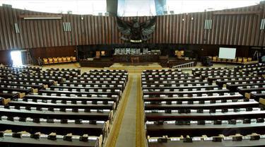 Ruang sidang utama Gedung DPR