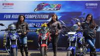 Tiga lady bikers ramaikan Yamaha Sunday Race (dok: Yamaha)