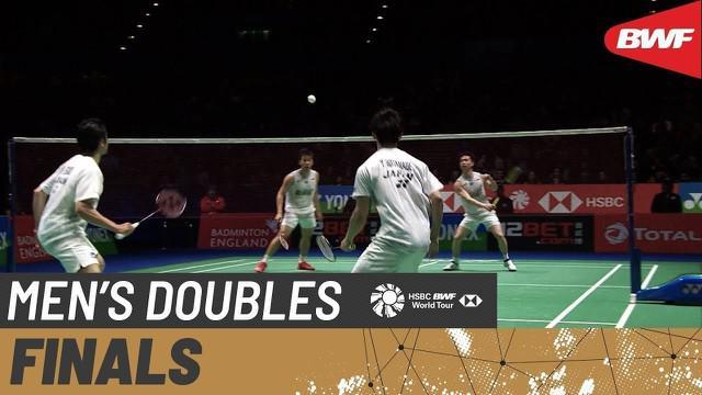 Berita video melihat kembali laga seru Marcus Gideon / Kevin Sanjaya melawan pasangan Jepang di Final All England 2020 nomor ganda putra yang digelar pada 15 Maret.