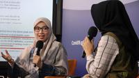 Epidemiologi Tim Pakar Gugus Tugas Nasional Dewi Nur Aisyah menegaskan walaupun suatu wilayah dikategorikan sebagai zona hijau, belum tentu wilayah tersebut aman dari penularan COVID-19 saat dialog di Media Center Gugus Tugas Nasional, Jakarta (8/7/2020). (Dok Tim Komunikasi Publik Gugus Tugas)