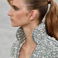 Chanel Couture Hair: Rockabilly Ponytails / Sam McKnights