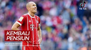 Berita Video, Arjen Robben Resmi Pensiun untuk yang Kedua Kalinya