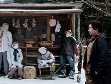 Ditinggal Warganya, Desa Nagoro di Jepang Dihuni Boneka