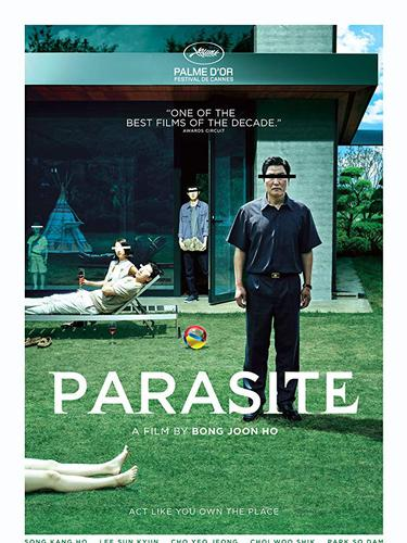 Poster film Parasite. (Foto: Dok. IMDb/ Barunson E&A)