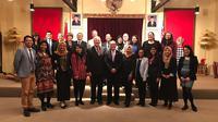 Duta Besar Indonesia untuk Selandia Baru, Tantowi Yahya saat berfoto bersama peserta INSPIRASI (KBRI Willington)