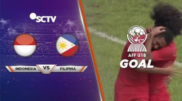 Berita Video Bagus Kahfi Cetak Gol Ketiga, Timnas Indonesia Unggul 3-0 atas Filipina di Piala AFF U-18 2019
