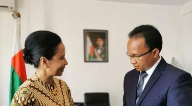 Kunjungan Menteri BUMN ke Madagaskar