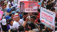 Gubernur Jateng Ganjar Pranowo memimpin aksi 3000 pelajar tentang melawan korupsi. (Merdeka.com)