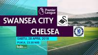 Premier League Swansea City Vs Chelsea (Bola.com/Adreanus Titus)