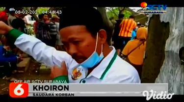Dua korban hilang dalam peristiwa banjir bandang di Pasuruan, Jawa Timur, pada Kamis (04/2) pagi, ditemukan sudah tak bernyawa. Jenazah Sri Susminati (60) dan cucunya Nanda Zeni (18) itu dimakamkan di pemakaman umum desa setempat.
