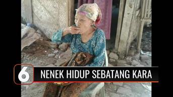 VIDEO: Seorang Nenek 75 Tahun di Subang Hidup Sebatang Kara tanpa Tersentuh Bantuan Sosial