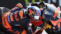 Brad Binder juarai MotoGP Ceko (AFP)