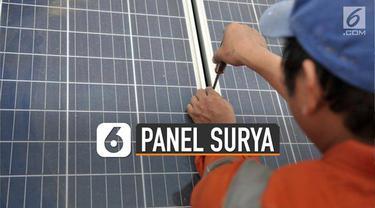 Penggunaan panel surya bisa sangat membantu menekan biaya listrik.