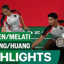 Berita video highlights laga Praveen Jordan / Melati Daeva Oktavianti melawan pasangan Tiongkok pada babak perempat final bulutangkis ganda campuran Olimpiade Tokyo 2020, Rabu (28/7/2021) pagi hari WIB.