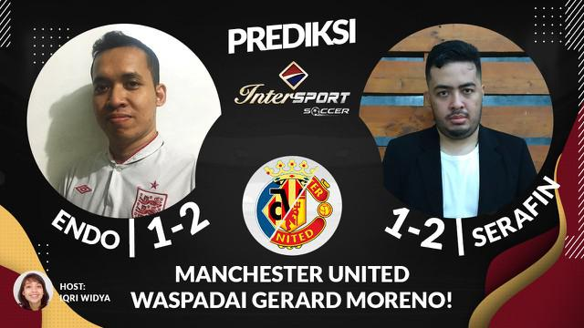 Berita Video Prediksi Liga Europa, Manchester United Harus Waspadai Pergerakan Striker Villarreal, Gerard Moreno