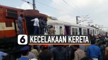 Dua kereta api Bangladesh bertabrakan dan menewaskan sedikitnya 16 orang. Pejabat mengatakan lebih dari 40 orang juga terluka dalam insiden tersebut.
