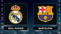 Liga Spanyol: Real Madrid Vs Barcelona. (Bola.com/Dody Iryawan)
