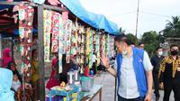 Mulyadi Blusukan ke Pasar Sialang Limapuluh Kota