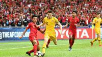 Piala AFC U-16 2018, Timnas Indonesia U-16 versus Australia, Senin (1/9/2018). (AFC)