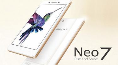 Neo 7 Jadi Smartphone Terbaru Oppo