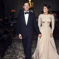 Putri Eugenie dan Jack Brooksbank (Alex BRAMALL / BUCKINGHAM PALACE / AFP)