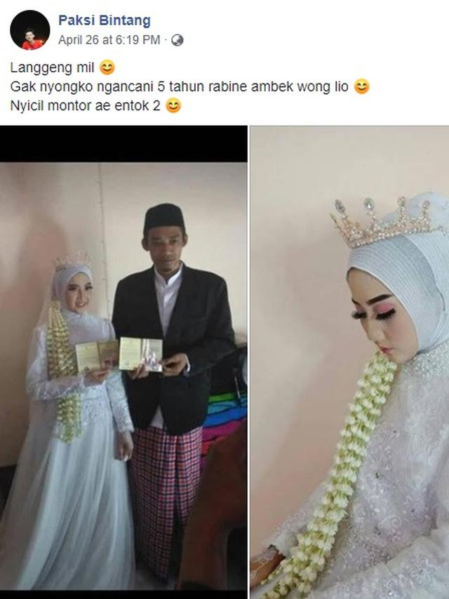 ditinggal nikah