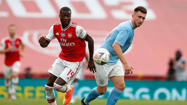Aubameyang Cetak Dua Gol, Arsenal Bungkam Manchester City