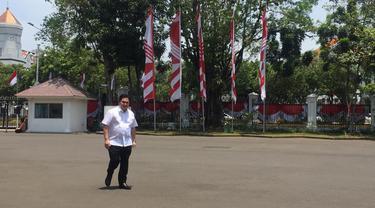Erick Thohir sambangi Istana Kepresidenan
