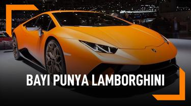 Masih Usia 1 Tahun, Putri Kylie Jenner Sudah Punya Lamborghini