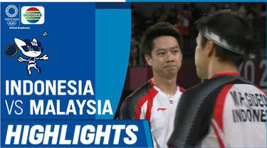 Berita video pasangan Indonesia, Marcus Gideon / Kevin Sanjaya kalah dari Wakil Malaysia pada babak perempat final bulutangkis ganda putra Olimpiade Tokyo 2020, Kamis (29/7/2021) pagi hari WIB.