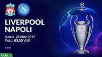 Liga Champions - Liverpool Vs Napoli (Bola.com/Adreanus Titus)