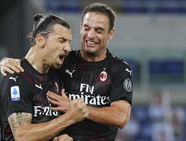 FOTO: AC Milan Cukur Lazio 3-0
