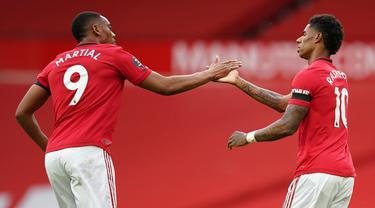 Manchester United Ditahan Southampton di Old Trafford