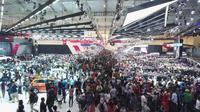 GIIAS Surabaya berlangsung 20-24 September 2017 di Grand City Convex Surabaya. (Septian/Liputan6.com)