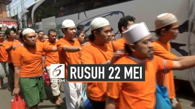 75 tersangka kerusuhan dan perusakan pada aksi 21-22 Mei telah diserahkan ke Kejaksaan Negeri Jakarta Barat. Mereka nantinya akan segera disidangkan.