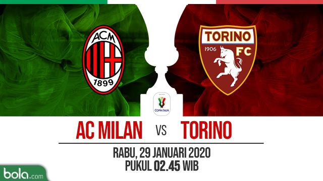 Link Live Streaming TVRI: AC Milan vs Torino di Coppa ...