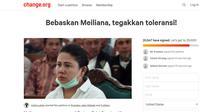 20 Ribu Orang Tandatangani Petisi Pembebasan Meiliana (Foto: change.org)