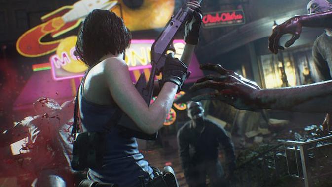Resident Evil 3 remake resmi meluncur pada 3 April 2020. (Doc: Capcom)