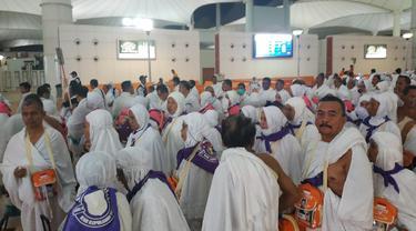 Rombongan Pertama Jemaah Haji Gelombang Kedua Tiba di Jeddah