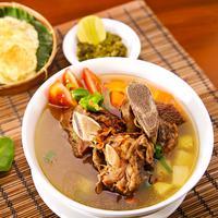ilustrasi sup iga kambing/copyright Shutterstock